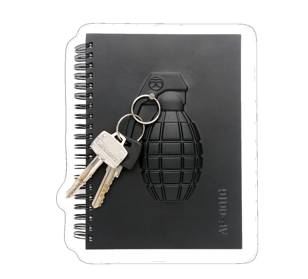 Armed Notebook – Grenade-0