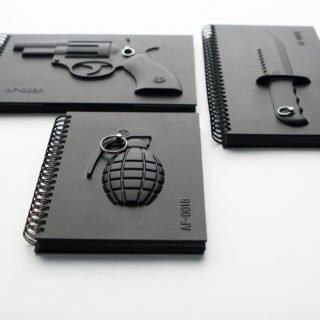 Armed Notebook - Grenade-22785