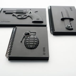 Armed Notebook - Knife-22777