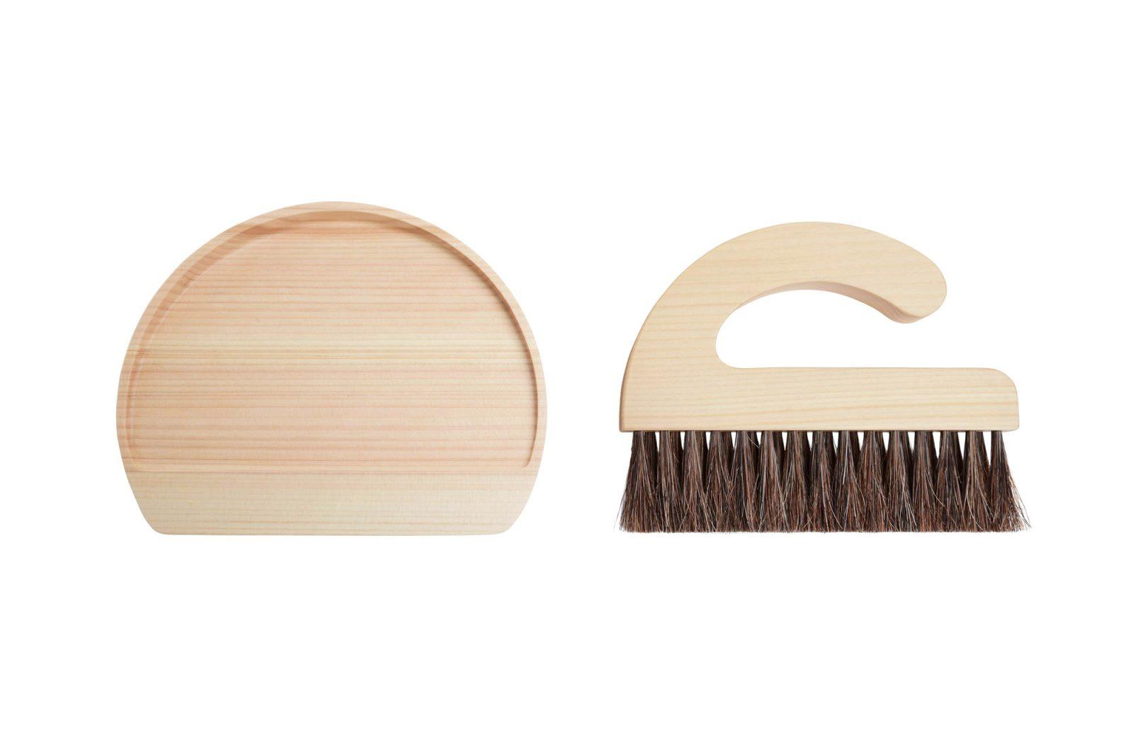 Asahineko Table Broom & Dust Pan by Makoto Koizumi-32833