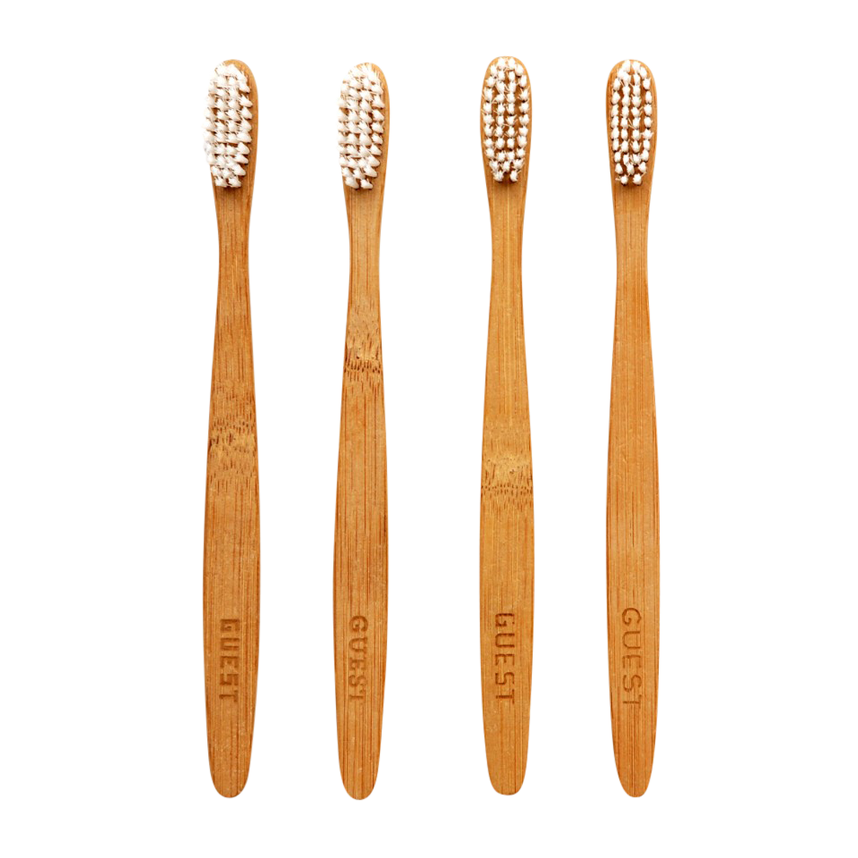 Guest,  Bamboo Toothbrush Set-0