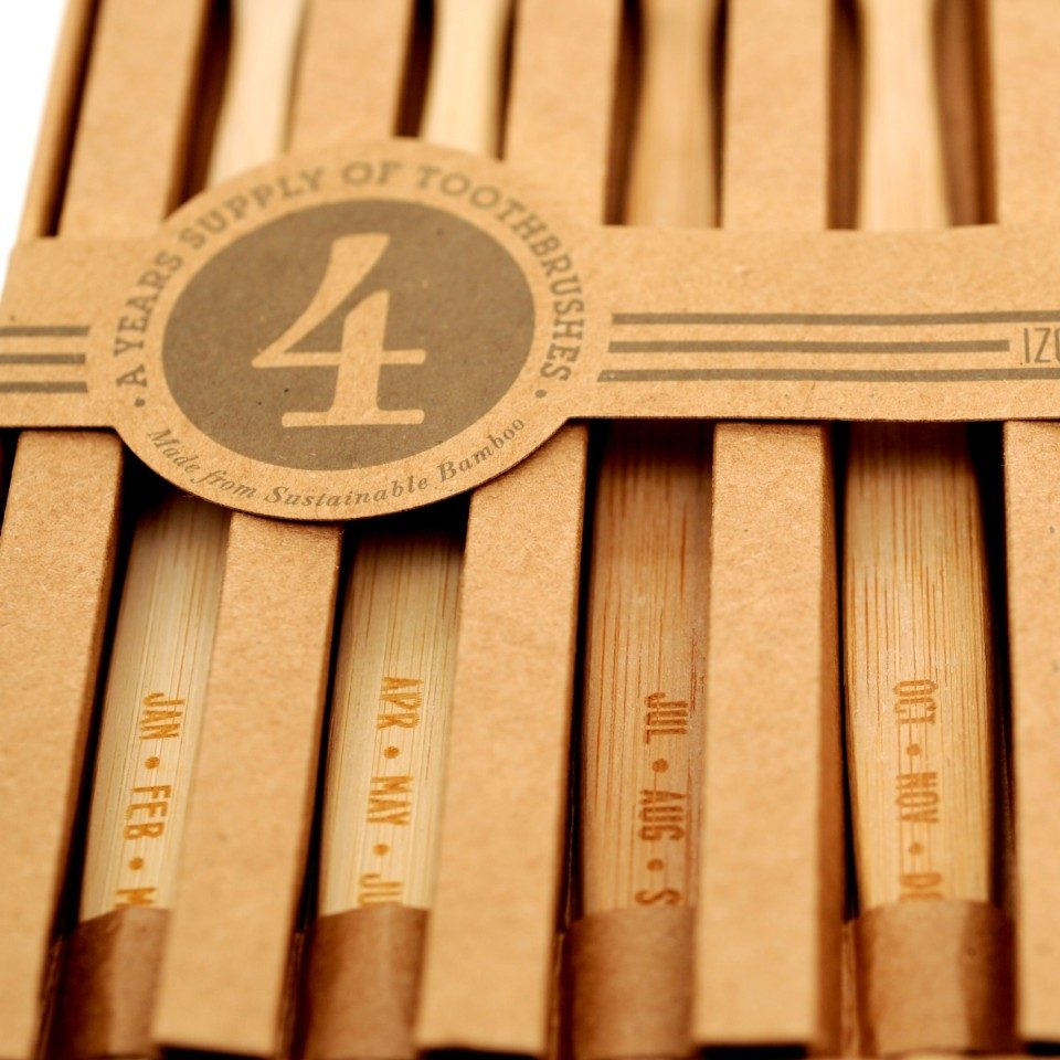 Months, Bamboo Toothbrush Set-21916
