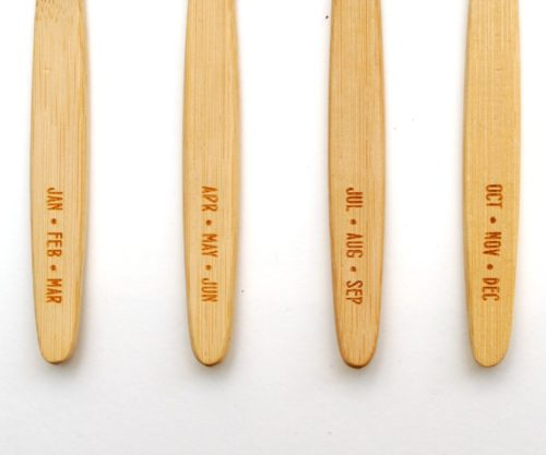 Months, Bamboo Toothbrush Set-21917