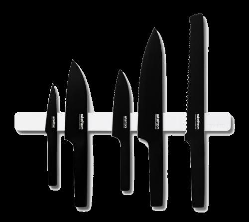 Pure Black Knives by Stelton - Set -0