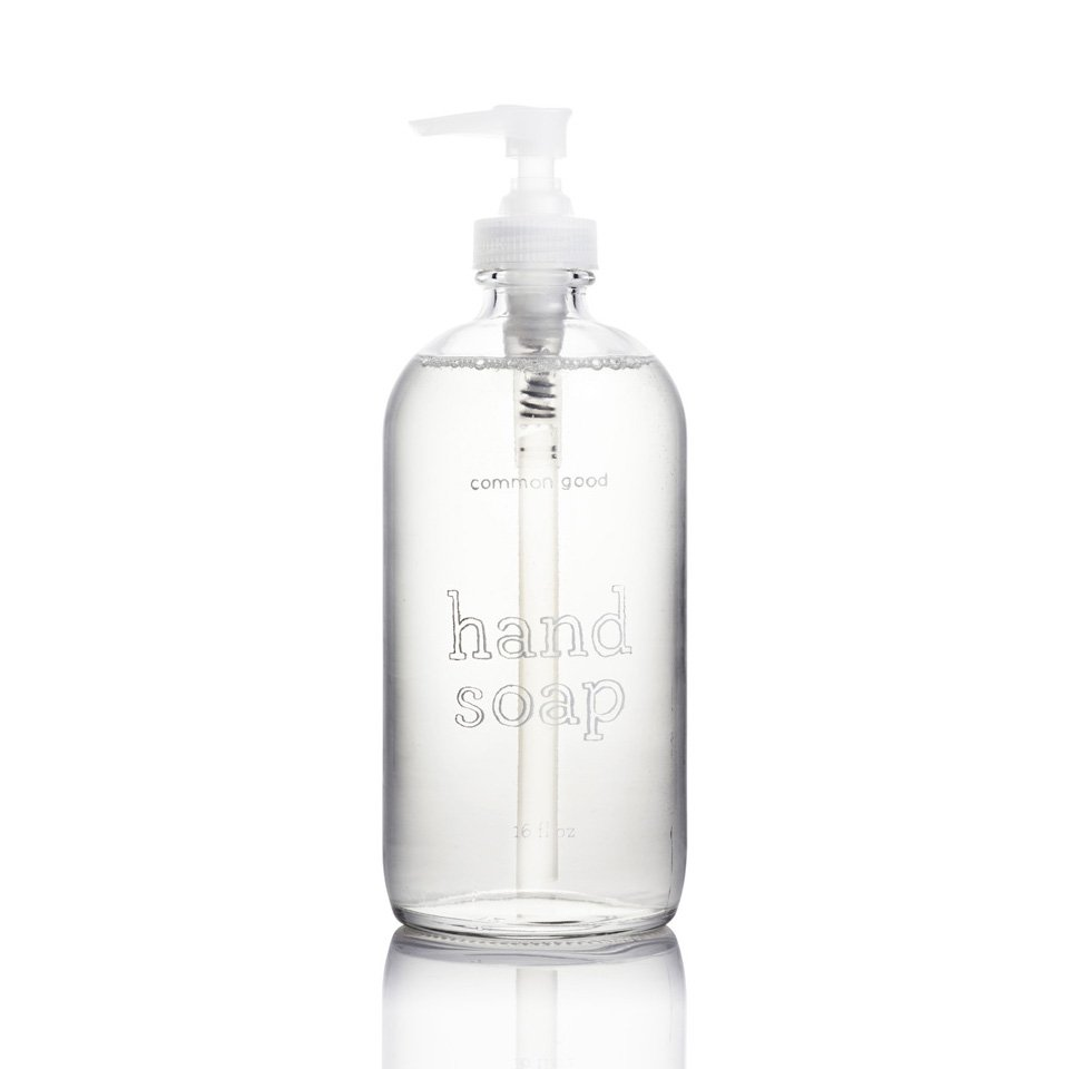 Eco Friendly Hand Soap by Common Good, Glass Bottle-23664