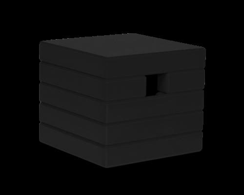 Cube Birdhouse - Black-0
