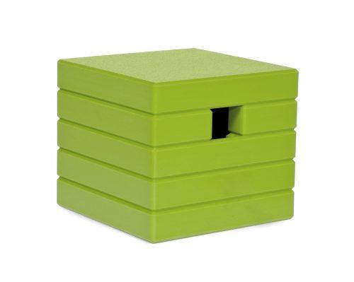 Cube Birdhouse - Leaf-22211
