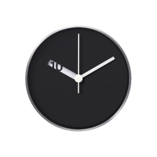 Extra Normal Wall Clock - Black-0
