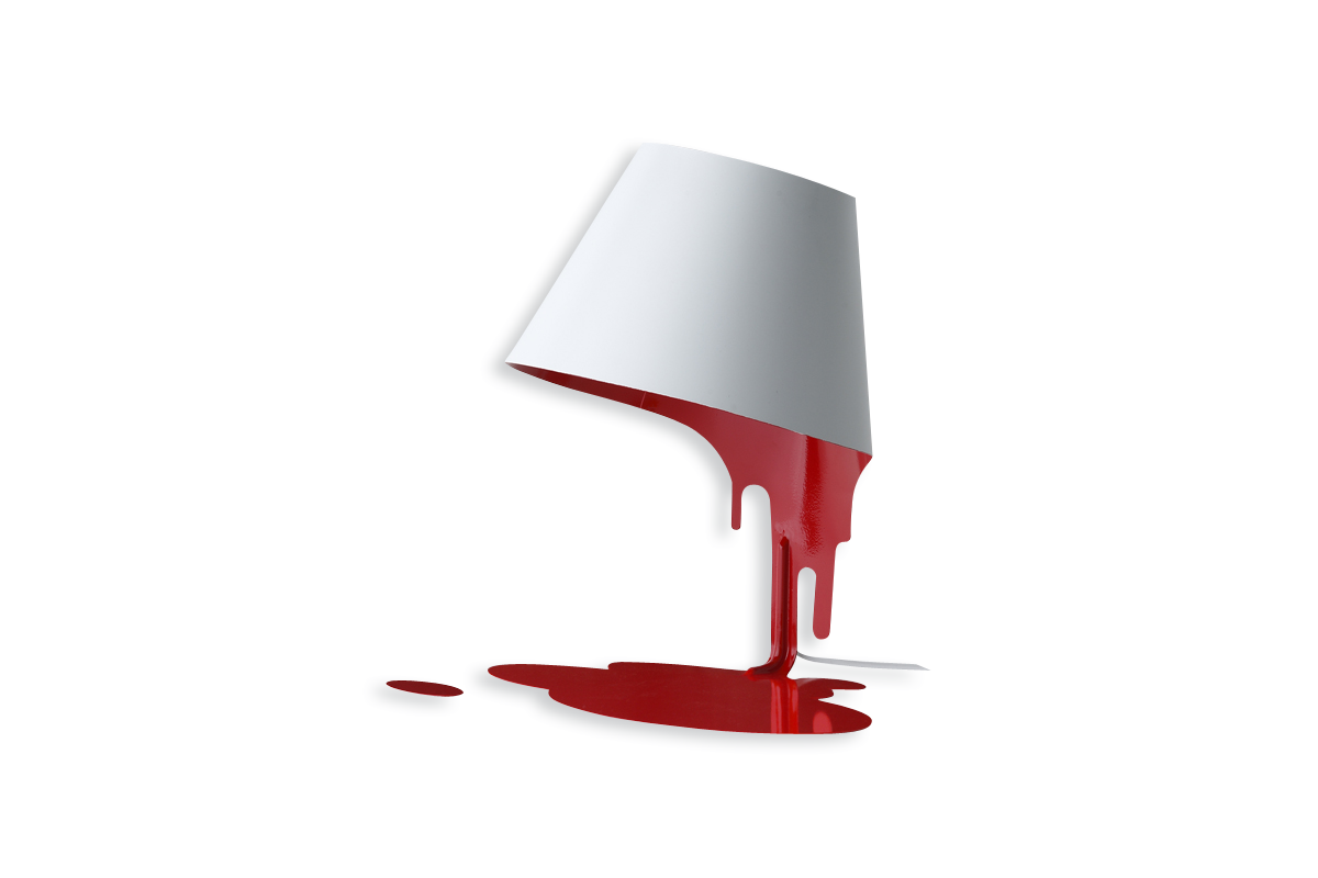 Liquid Lamp Red-0