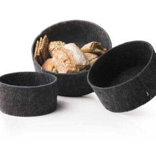 Felt Bread Baskets by Norm Architects, Set of 3-18752