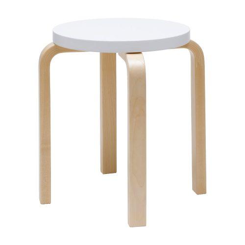 Stool 60 by Alvar Aalto-23730