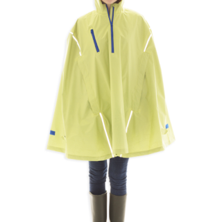 Seabee Yellow, High-Performance Rain Cape by Cleverhood-0