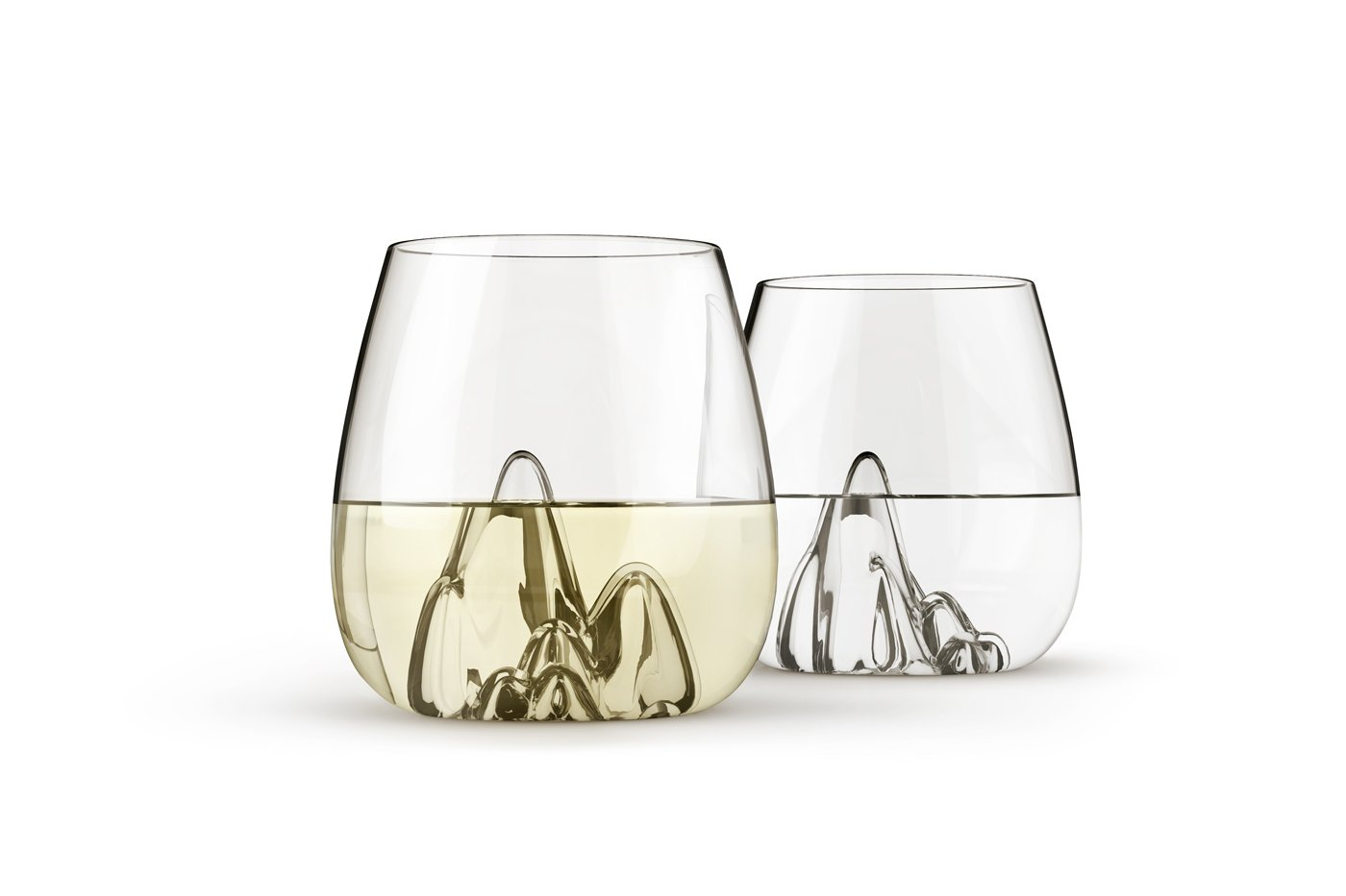 Escape, Hand Blown Glass Tumblers by Aruliden – Set of 4 -23820