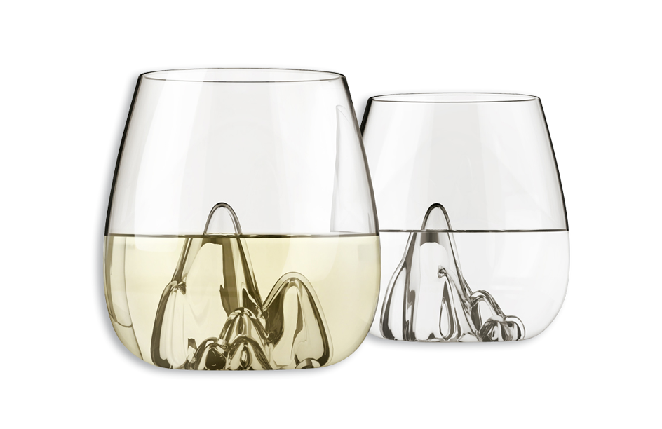 Escape, Hand Blown Glass Tumblers by Aruliden – Set of 4 -0