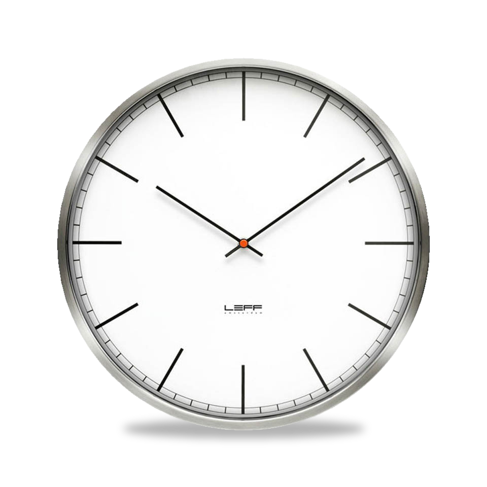 One45 Index Dial Wall Clock by Leff Amsterdam-0