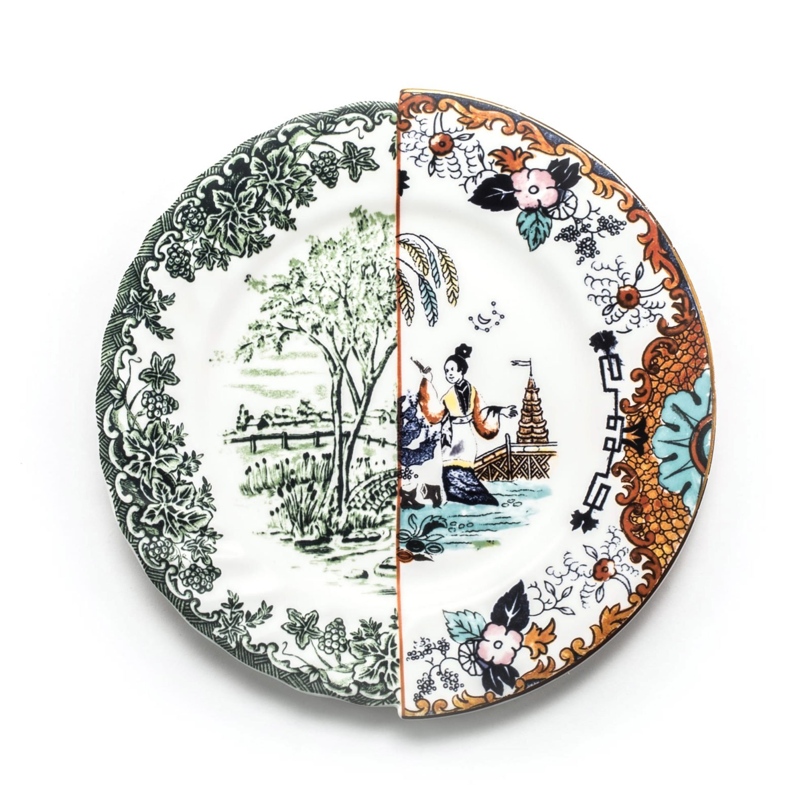 Seletti Hybrid Collection, Ipazia Dinner Plate-32054