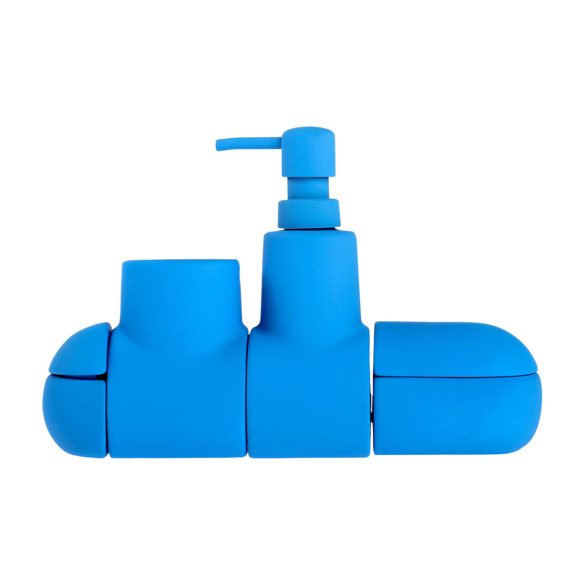 Submarino Bath Set, Blue-0