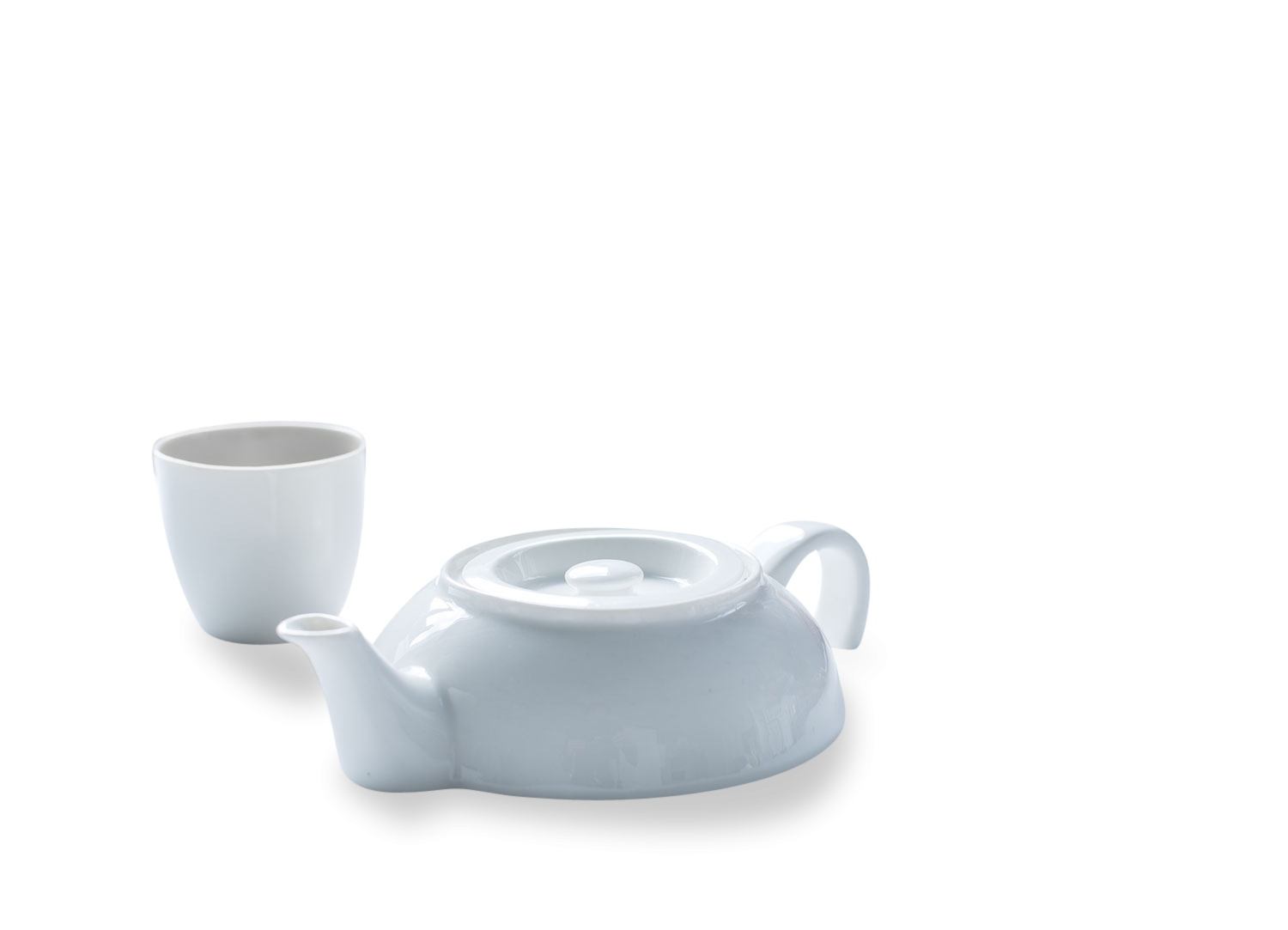Tea For One, Ceramic Teapot by Droog -0
