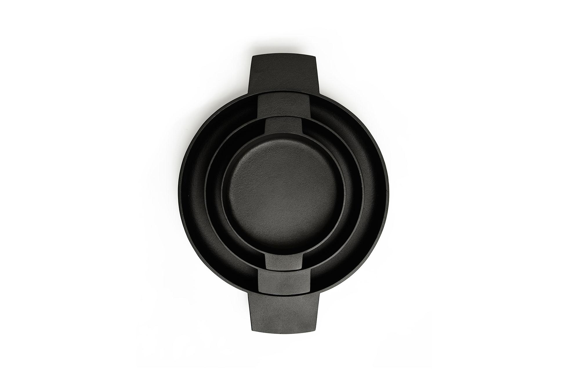 Nambu Tekki Cast Iron Baker Pan, Small-30393
