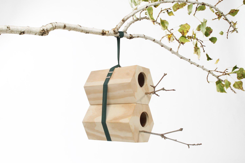 NeighBirds, Modular Wooden Birdhouses-25592