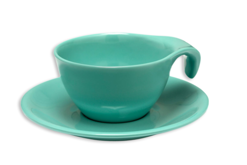 Russel Wright Melamine Tableware, Cup and Saucer-0