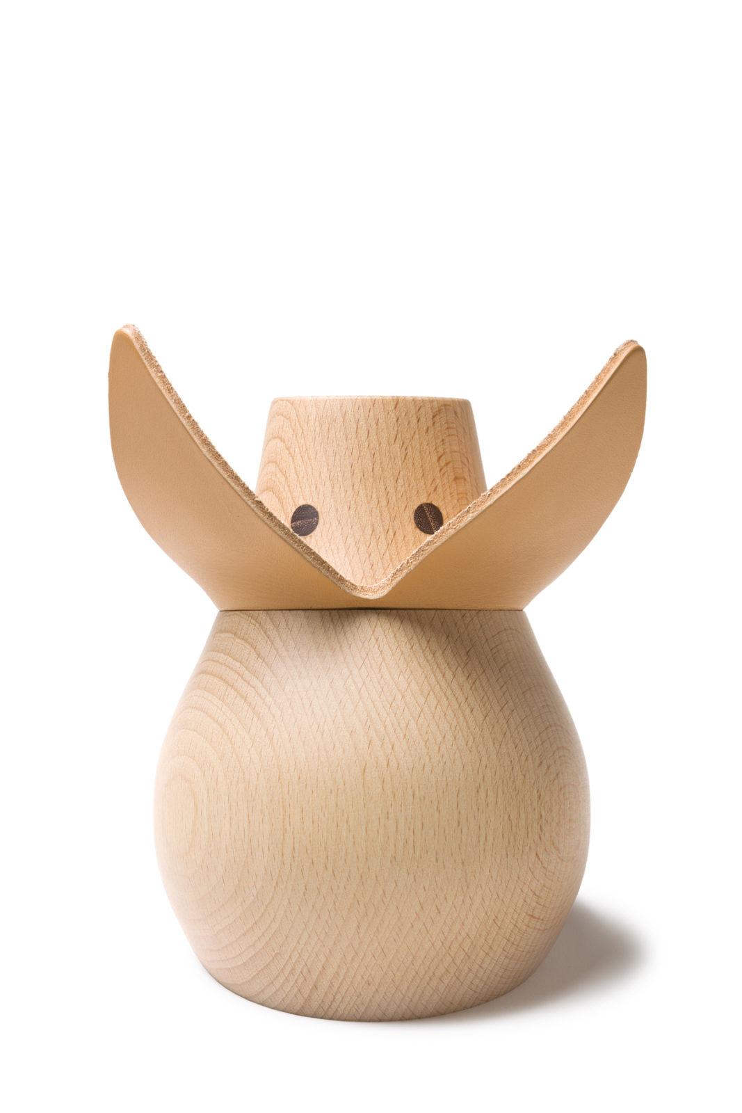 Miss Monnipenni, Wood Piggy Bank -25710