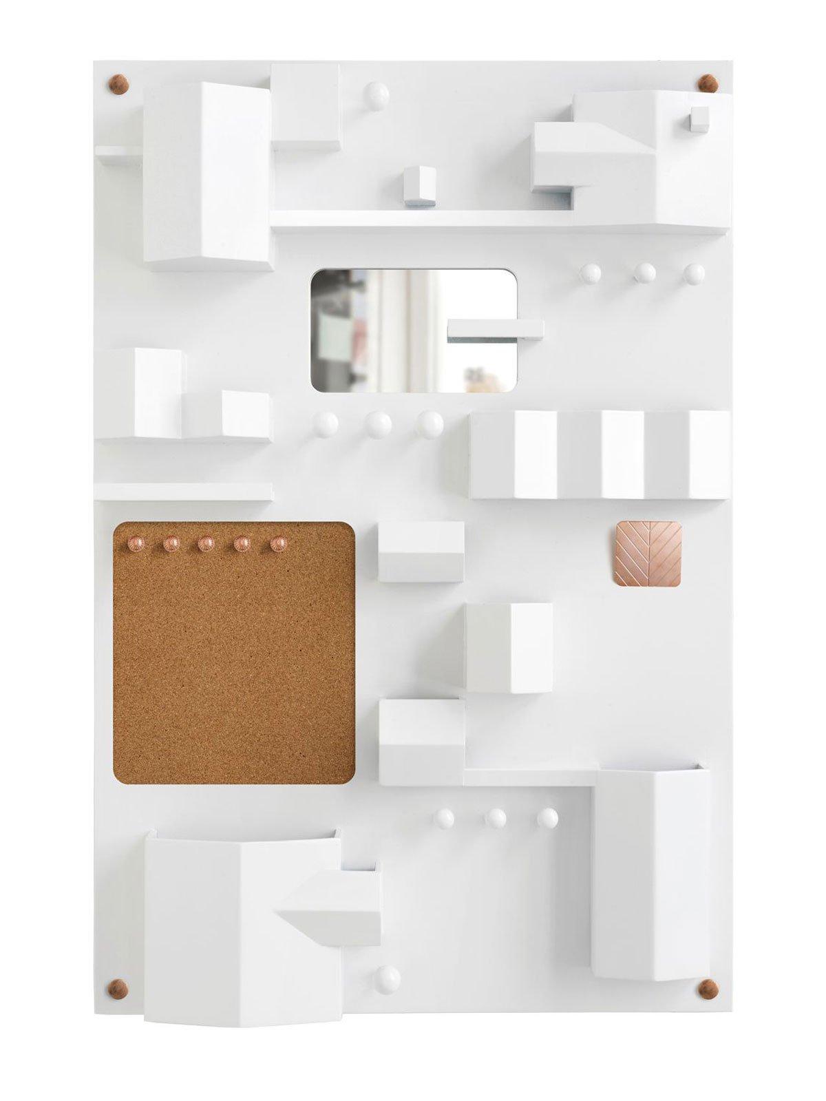 Suburbia Wall Storage by Seletti, White-25395
