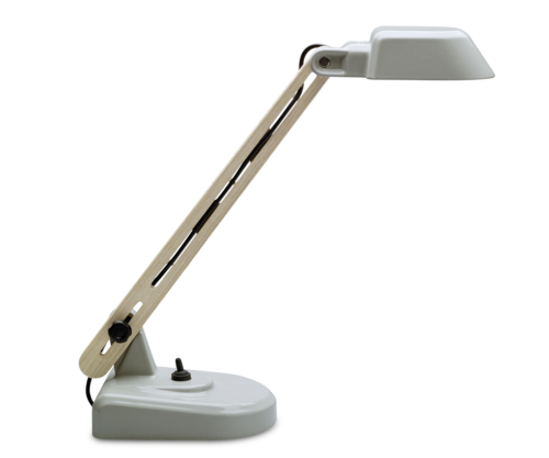 Work Lamp by Dick van Hoff, Gray-0