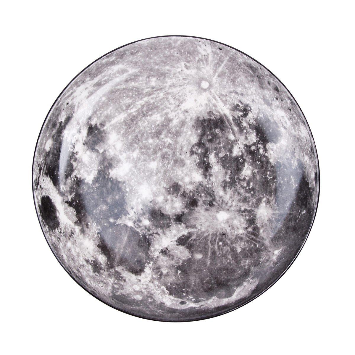 Diesel by Seletti Cosmic Dinner Plate – Moon-26139