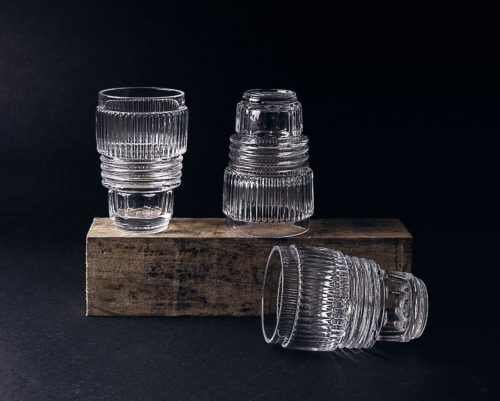 Diesel by Seletti Machine Collection - Glassware, Set of 3-26121