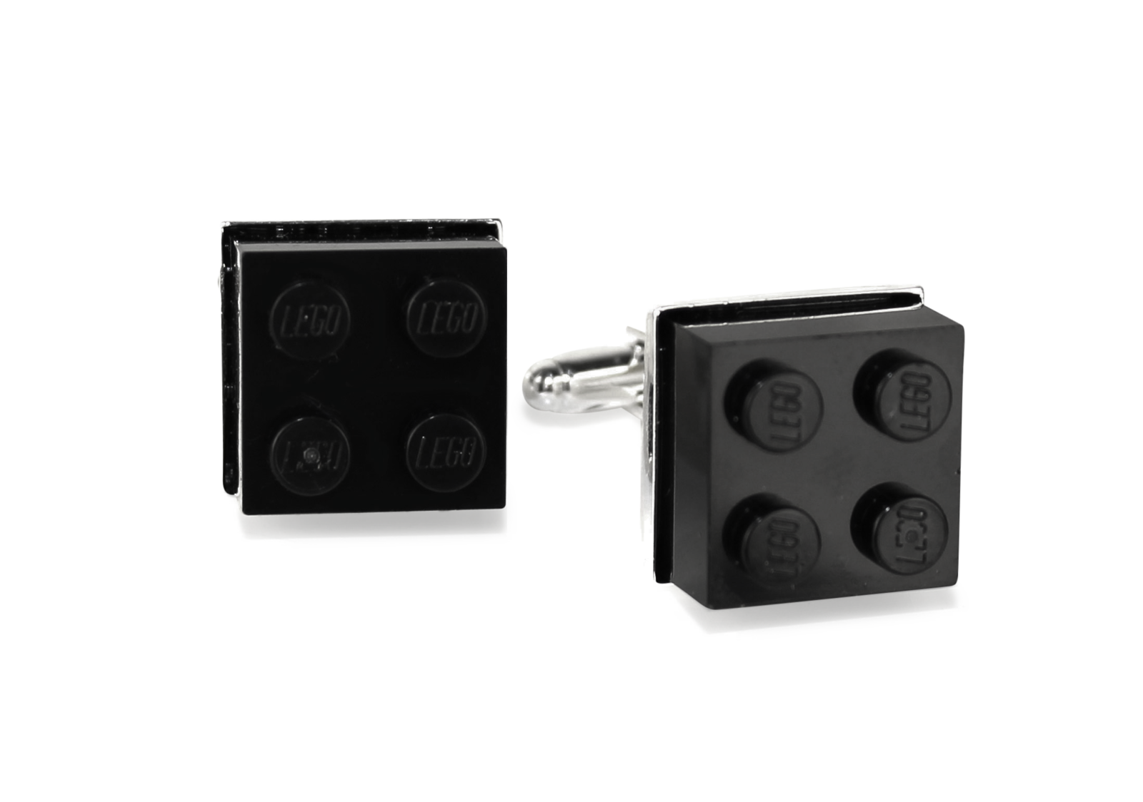 Lego Cufflinks, Black-0
