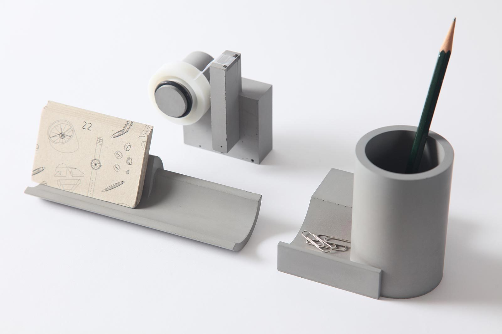 Merge, Concrete Tape Dispenser -27697