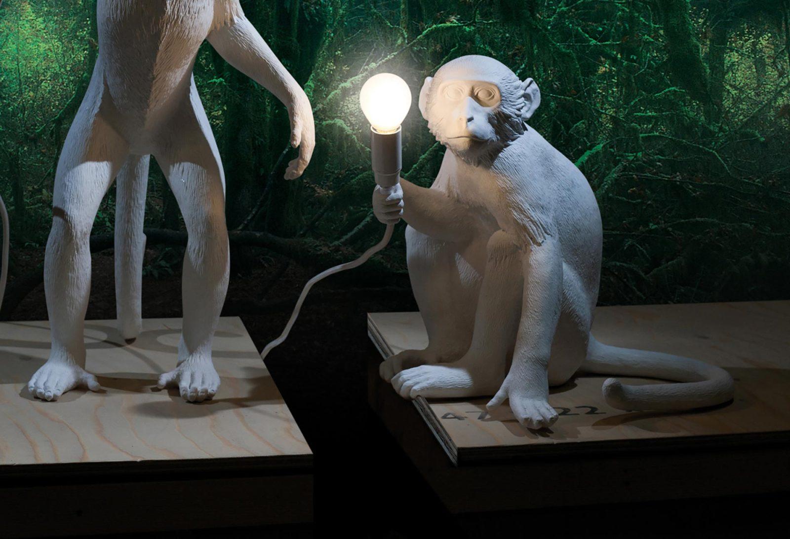 Seletti Monkey Lamp, Sitting -27715