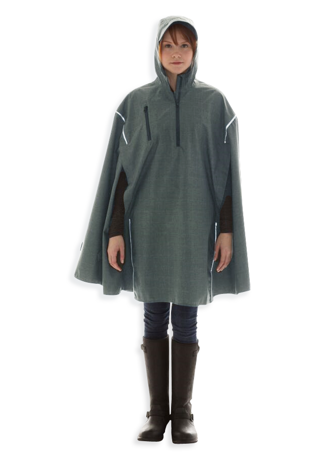 TF Green, High-Performance Rain Cape by Cleverhood-0