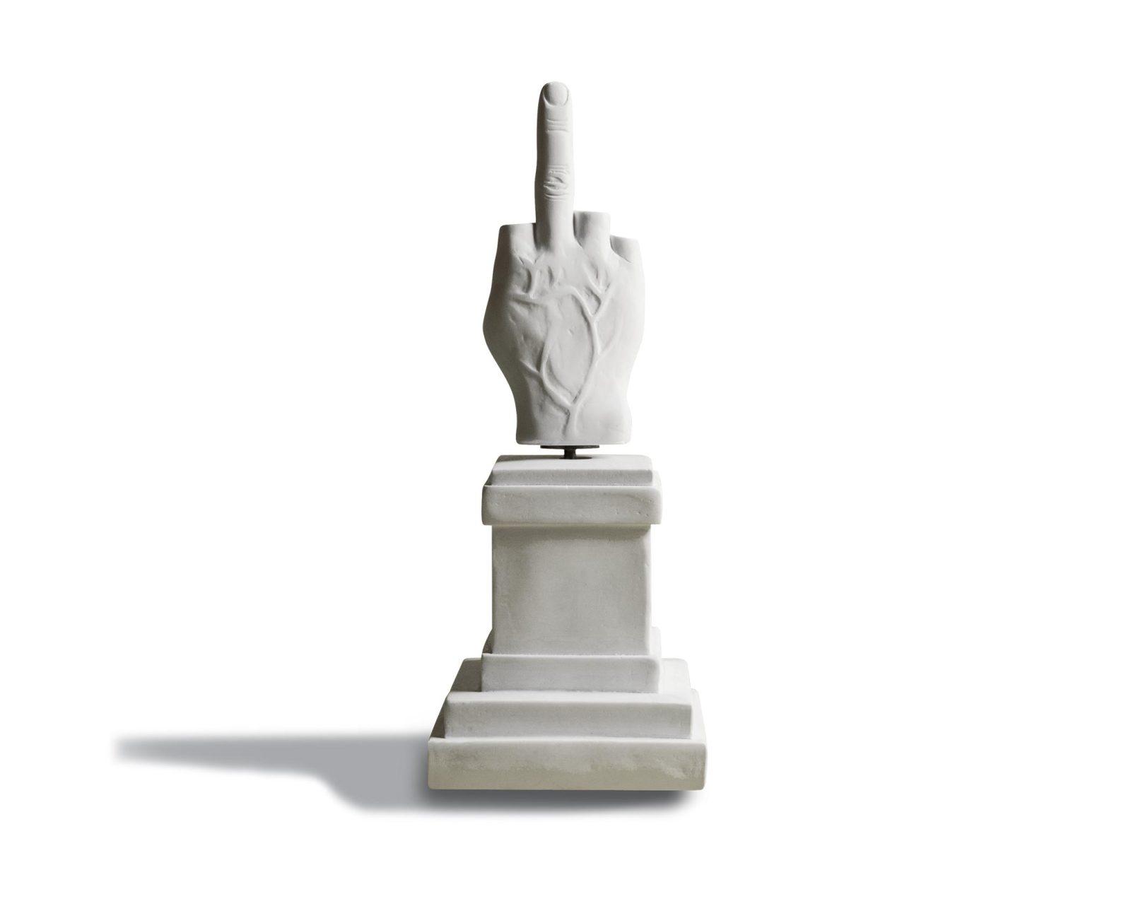 L.O.V.E. Middle Finger Music Box by Seletti-27888