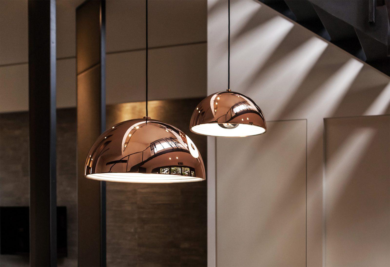 Dome Pendant, Copper-28133