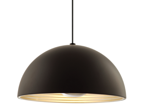 Dome Pendant, Black-0
