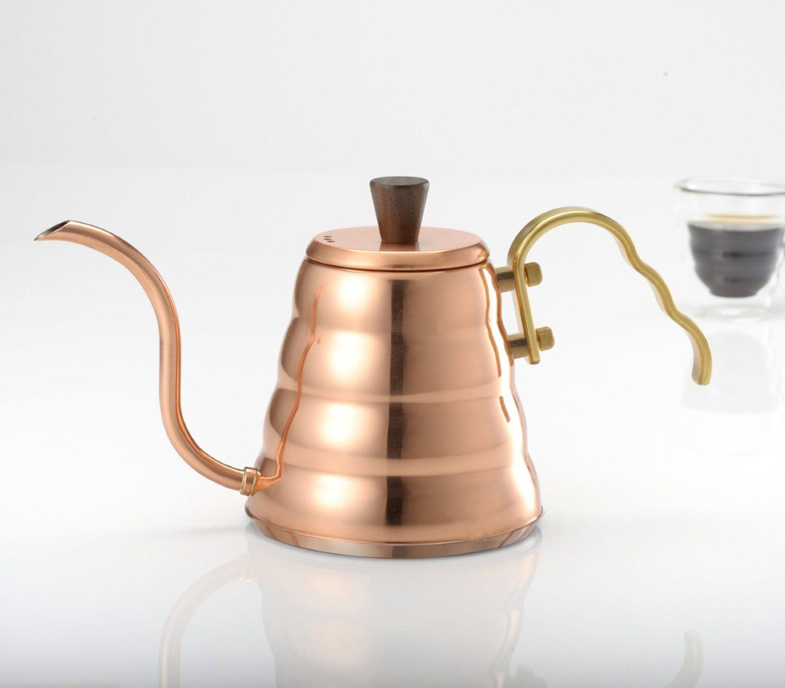 Hario Buono Coffee Drip V60 Kettle, Copper-28391