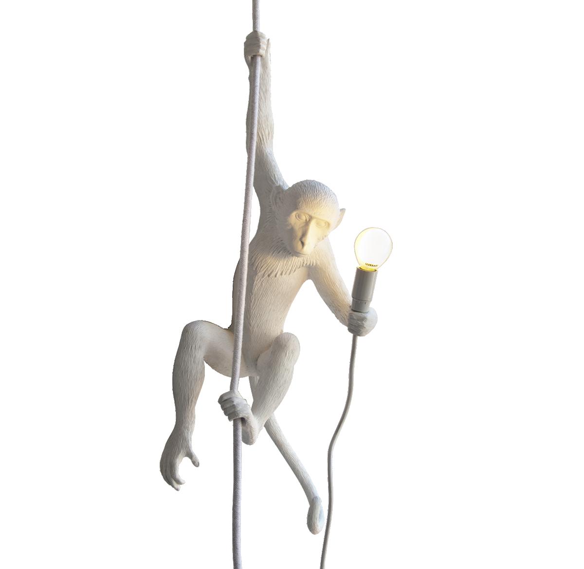 Seletti Monkey Lamp, Ceiling 0