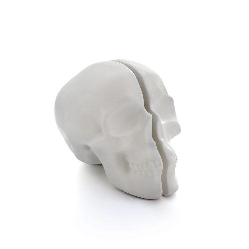 Yorick Skull Lamp, White-34718
