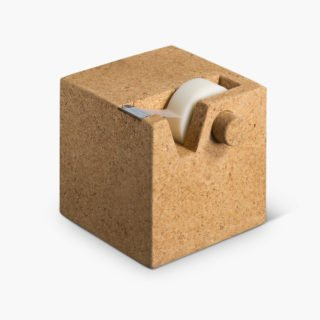Cork Cube Tape Dispenser-29532