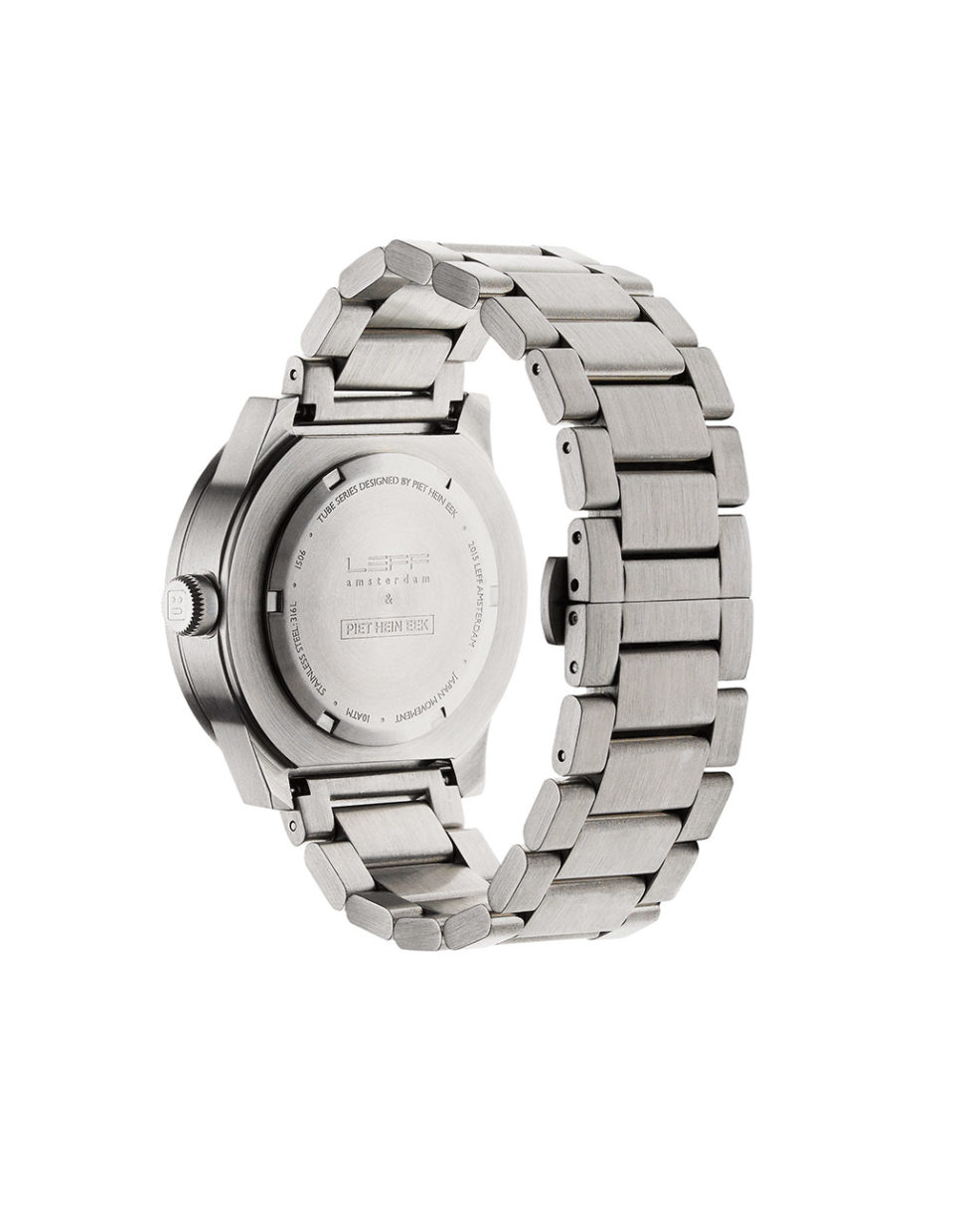 Leff Amsterdam Tube Watch S42, Stainless Steel-29319