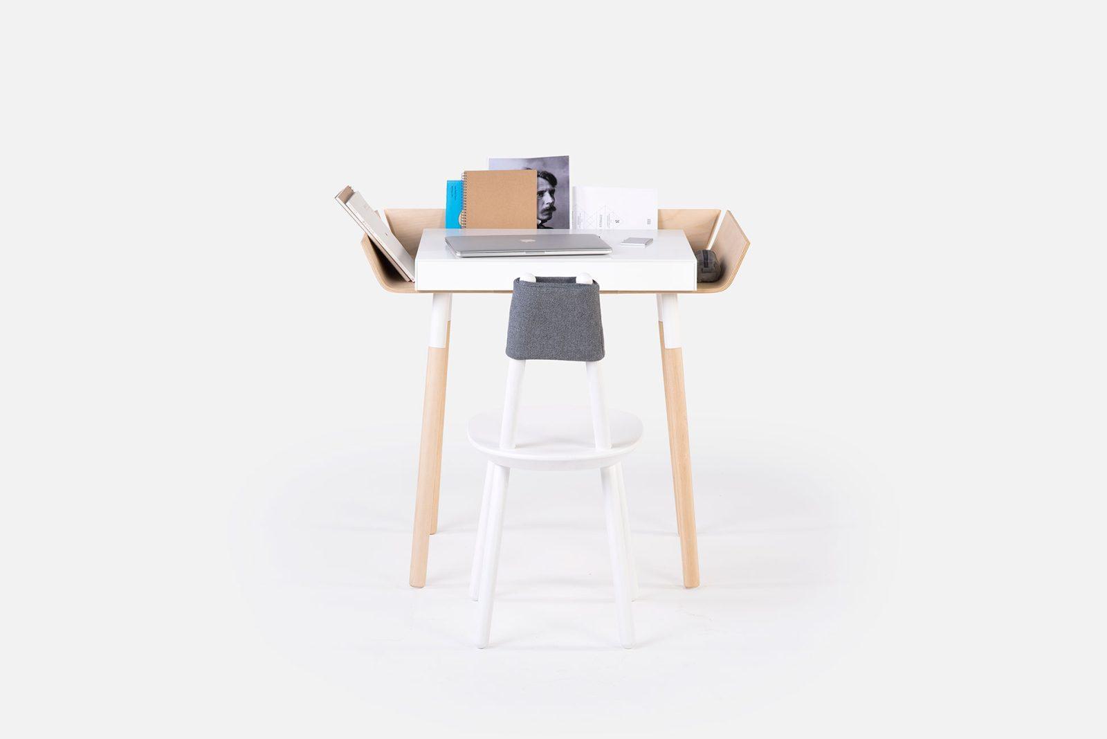 My Writing Desk, Single Drawer, White-29699