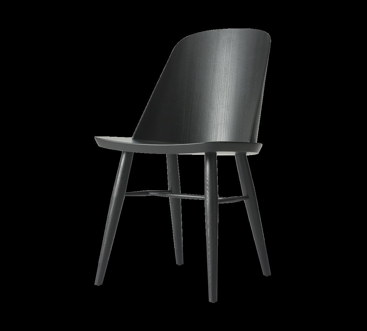 Synnes Dining Chair, Black Oak-0