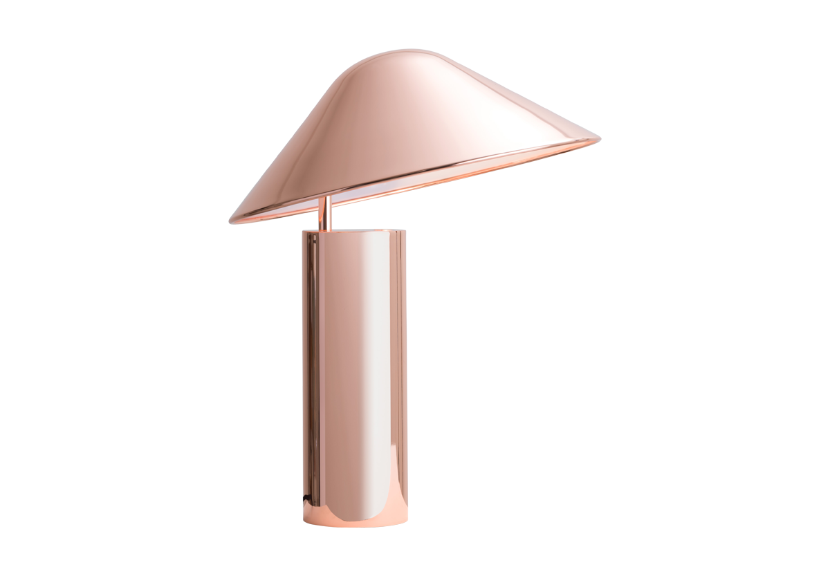 Damo Table Lamp, Copper-0