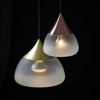 Mist Pendant Light, Brass-29970