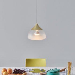 Mist Pendant Light, Brass-29969