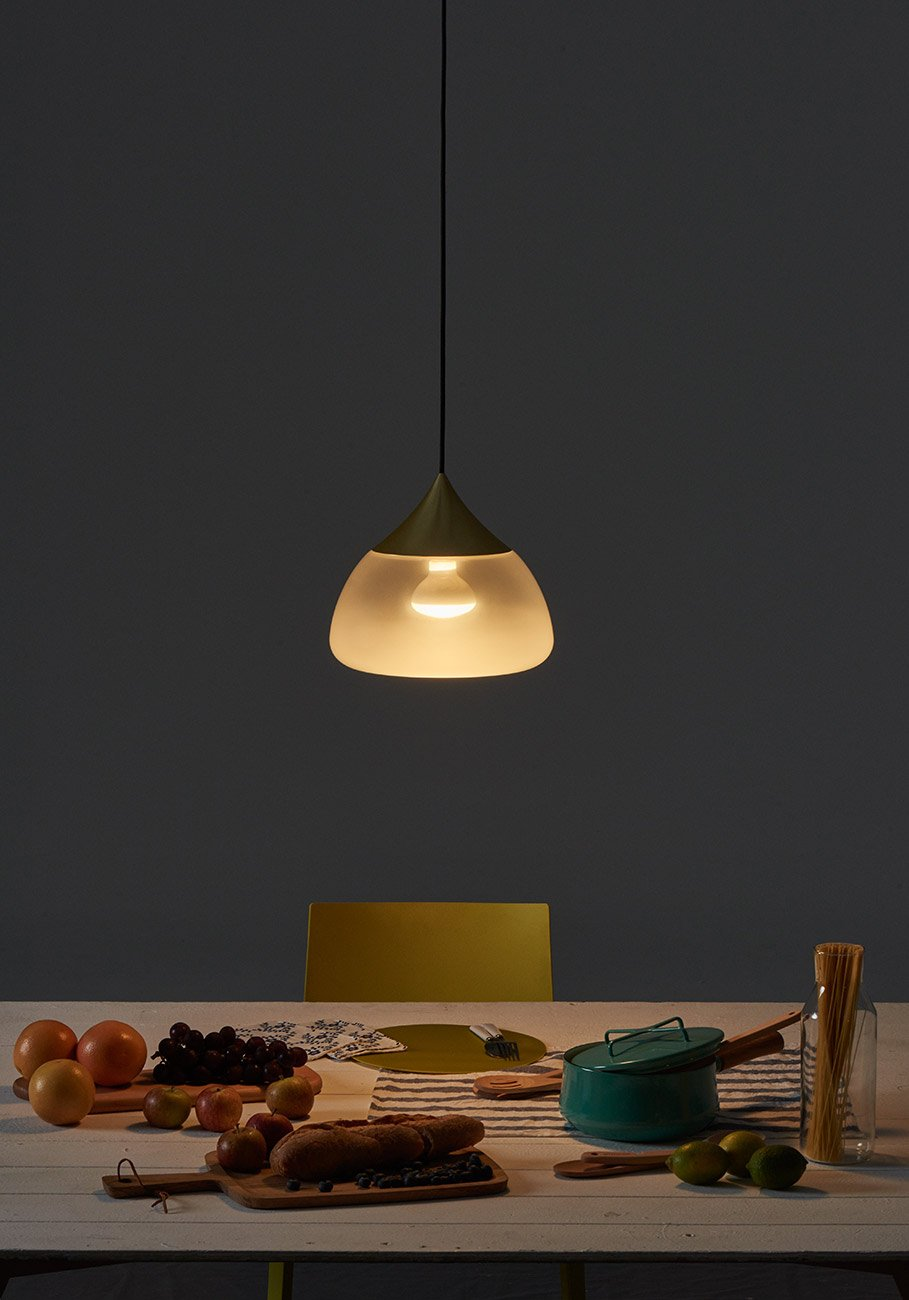 Mist Pendant Light, Brass-29968