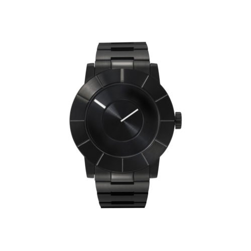 Issey Miyake TO Automatic Men's Black Watch, Steel-30658