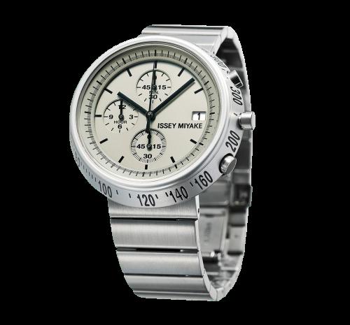 Issey Miyake Trapezoid Silver Watch, Steel-0
